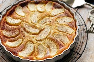 Ricotta and apple bake